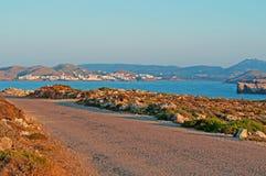 Balearic Island menorca spain Royaltyfria Bilder