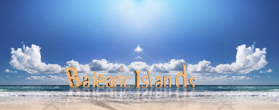Balearic islands beach Royalty Free Stock Image