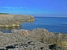 Menorca Cliffs stock photos
