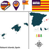 Balearic Islands, Spain Stock Images