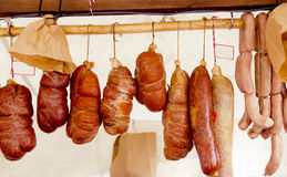 Balearic sobrasada mallorquina sausage Mallorca. Spain food Stock Photos