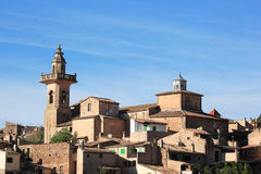 Balearic village Stock Photography