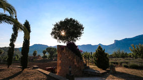 Balearic wysp Śródziemnomorska architektura Mallorca, Finca fotografia royalty free
