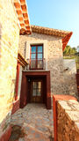 Balearic wysp Śródziemnomorska architektura Mallorca, Finca obraz stock