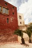 Balearische Spanien alte Stadt Ibiza Lizenzfreie Stockfotos