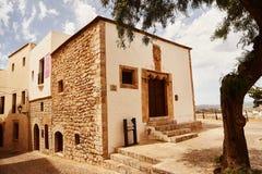Balearische Spanien alte Stadt Ibiza Lizenzfreies Stockbild