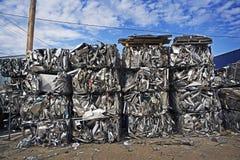 Baled Scrap Metal Stock Photos