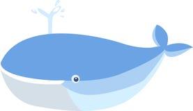 Baleia azul Imagem de Stock Royalty Free
