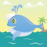 Baleia do marinheiro. Foto de Stock Royalty Free
