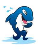 Baleia running da orca fotografia de stock