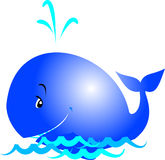 Baleine illustration stock