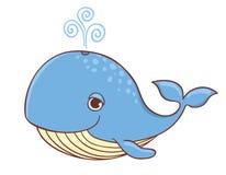 baleine bleue Photo libre de droits