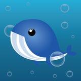 Baleine mignonne Image libre de droits