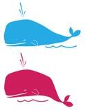 Baleines illustration de vecteur