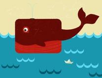 Balena Fotografie Stock