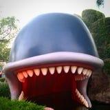 Balena del libro di fiabe Immagini Stock