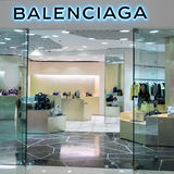 Balenciaga mody butika pokazu okno hong kong Obraz Royalty Free