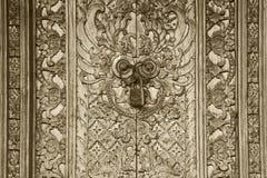 Balenese-Tür lizenzfreie stockfotos