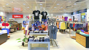 Baleno clothing retail store Royalty Free Stock Images