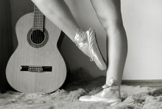 balerin nogi Obraz Royalty Free