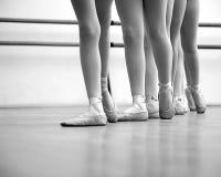 Balerin nogi Zdjęcia Royalty Free