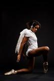 balerin skrzydła piękni biały Zdjęcia Royalty Free