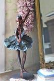 balerina雕象  免版税库存照片