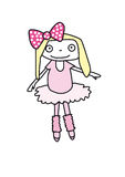 balerina mała Zdjęcia Royalty Free