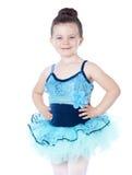 balerina odizolowywająca na biel zdjęcia stock