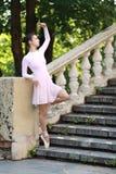 Balerina outdoors Fotografia Stock
