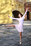 Balerina outdoors Zdjęcie Stock