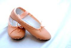 Balerina Shoes. Pink Balerina shoes with white background Royalty Free Stock Photo