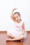 balerina trochę Obrazy Royalty Free
