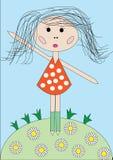 balerina trochę Obraz Stock