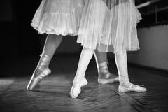 Balerinas foots Стоковое Изображение