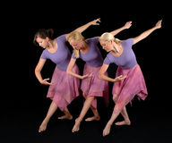 baleriny Obraz Royalty Free