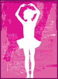baleriny dziecko Zdjęcia Royalty Free