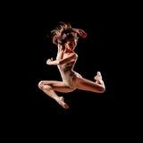 baleriny jumping Zdjęcie Stock