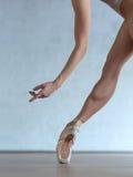 Baleriny noga obrazy stock