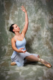 baleriny pełniącego Obraz Royalty Free