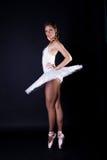 baleriny spódniczki baletnicy biel zdjęcie royalty free