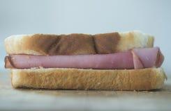 Baleron kanapka Obrazy Royalty Free