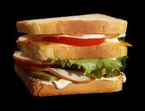 baleron świetlicowa kanapka Zdjęcia Stock