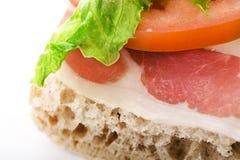 baleronu kanapki warzywa Zdjęcie Stock