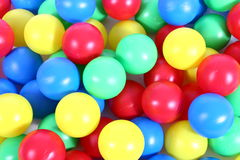 Bales. Several bullets from several color Royalty Free Stock Photo