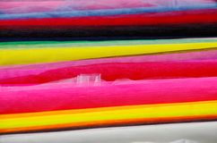 Bales of cloth Stock Photo