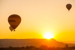 Balões de ar quente em Cappadocia Imagem de Stock Royalty Free