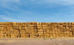 Bales of hay Royalty Free Stock Photo