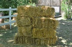 Bales of hay Royalty Free Stock Image