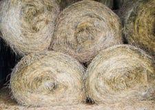 Bales of Hay – Horizontal Royalty Free Stock Image